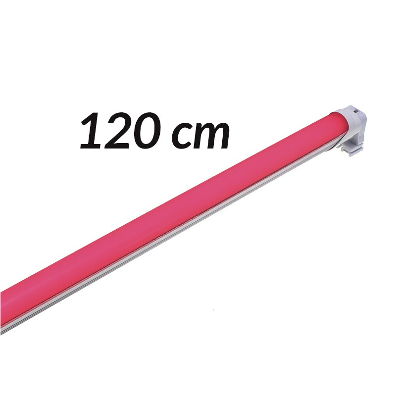 Tubo led rojo 120cm T8