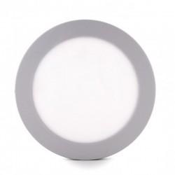 Comprar Plafón circular cromado 12w 930Lm 169mm