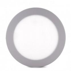 Comprar Plafón circular cromado 18w 1440Lm 225mm