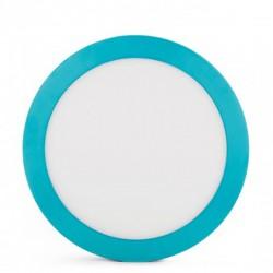 Comprar Plafón circular Azul 18W 1450Lm 220mm