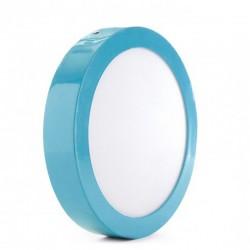 Oferta Plafón circular Azul 18W 1450Lm 220mm
