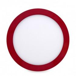 Comprar Plafón circular Rojo 18W 1450Lm 220mm