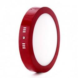 Oferta Plafón circular Rojo 18W 1450Lm 220mm