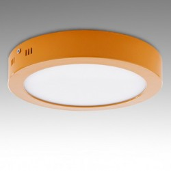 Plafón circular Amarillo 18W 1450Lm 220mm