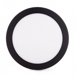 Comprar Plafón circular Negro 18W 1450Lm 220mm