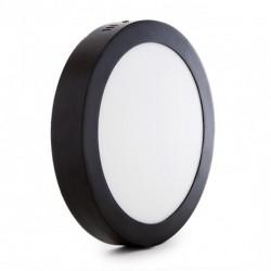 Oferta Plafón circular Negro 18W 1450Lm 220mm
