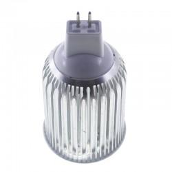 Bombilla led mr16 9W 12v Blanco cálido