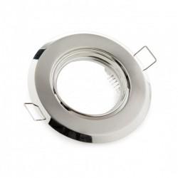 Comprar Aro empotrable circular basculante Acero 92mm