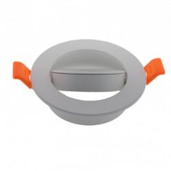 Comprar Aro empotrable Circular Basculante Blanco 93mm