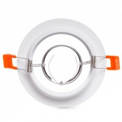 Aro empotrable Circular Blanco 120mm
