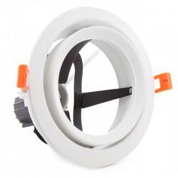 Aro empotrable Par30 E27 Blanco 160mm