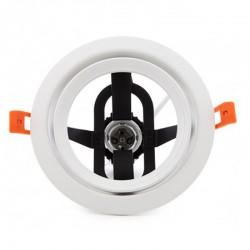 Oferta Aro empotrable Par30 E27 Blanco 160mm