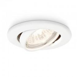 Aro empotrable Philips Circular Blanco Basculante