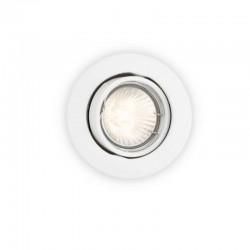 Comprar Aro empotrable Philips Circular Blanco Basculante