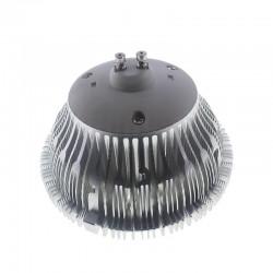 Bombilla led Qr111 18W blanco cálido 60º