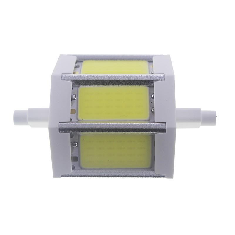 Bombilla led R7s 5W COB Blanco Frío 78mm