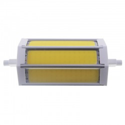 Bombilla led R7s 8W COB Blanco Calido 118mm