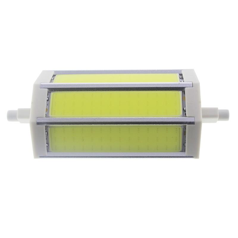 Bombilla led R7s 8W COB Blanco frío 118mm