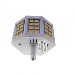 Bombilla led R7s 5W 5050 Blanco Cálido 78mm