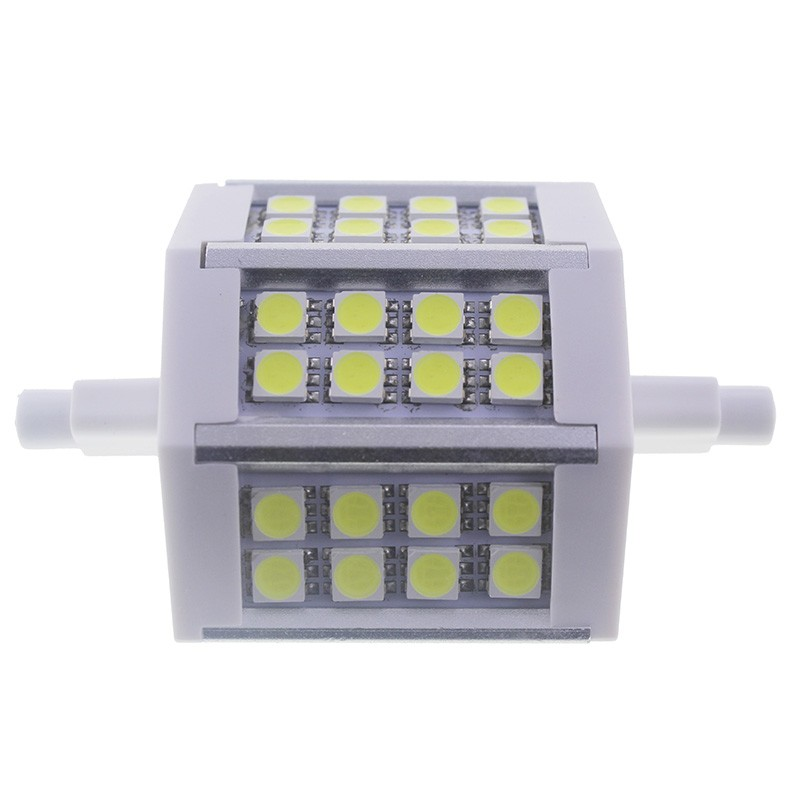 Bombilla led R7s 5W 5050 Blanco Frío 78mm