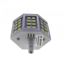 Bombilla led R7s 5W 5050 Blanco Frío 78mm regulable