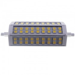 Bombilla led R7s 13W 5050 Blanco calido 138mm regulable