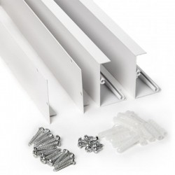 Componentes Marco superficie para panel led 1200x600mm