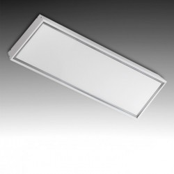 Marco superficie para panel led 1200x300mm