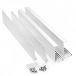Componentes Marco superficie para panel led 300x300mm