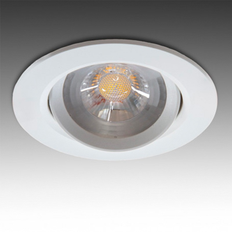 Foco Downlight circular COB 7W 630Lm Ø90mm