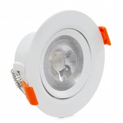 Comprar Foco Downlight circular COB 7W 630Lm Ø90mm