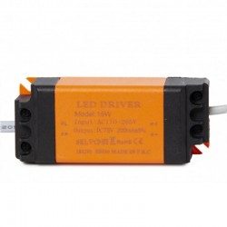 Driver Downlight led Luxtar 15W 1200Lm Ø115mm