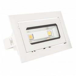 Foco Downlight led Rectangular COB 40W 3600Lm