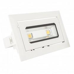 Foco Downlight led Rectangular COB 40W 3600Lm