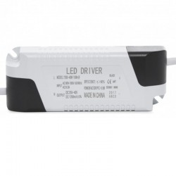Driver Foco Downlight Led Rectangular 40W 4400Lm