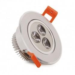 Vender Foco Downlight Led Circular 3W 300Lm Ø85mm
