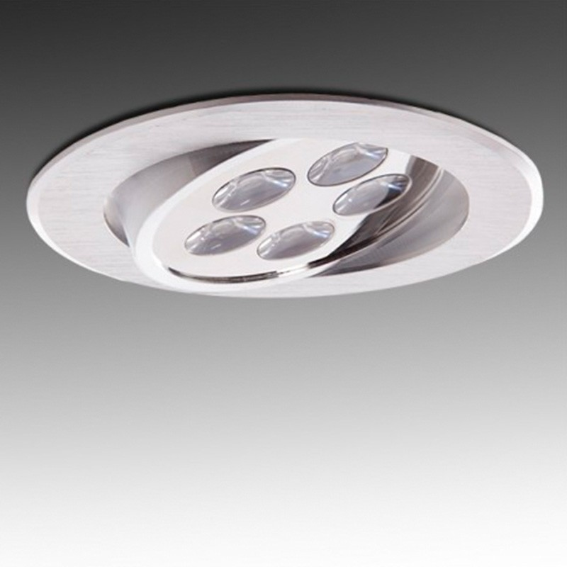 Foco Downlight Led Circular 5W 500Lm Ø108mm