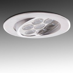 Foco Downlight Led Circular 7W 700Lm Ø108mm