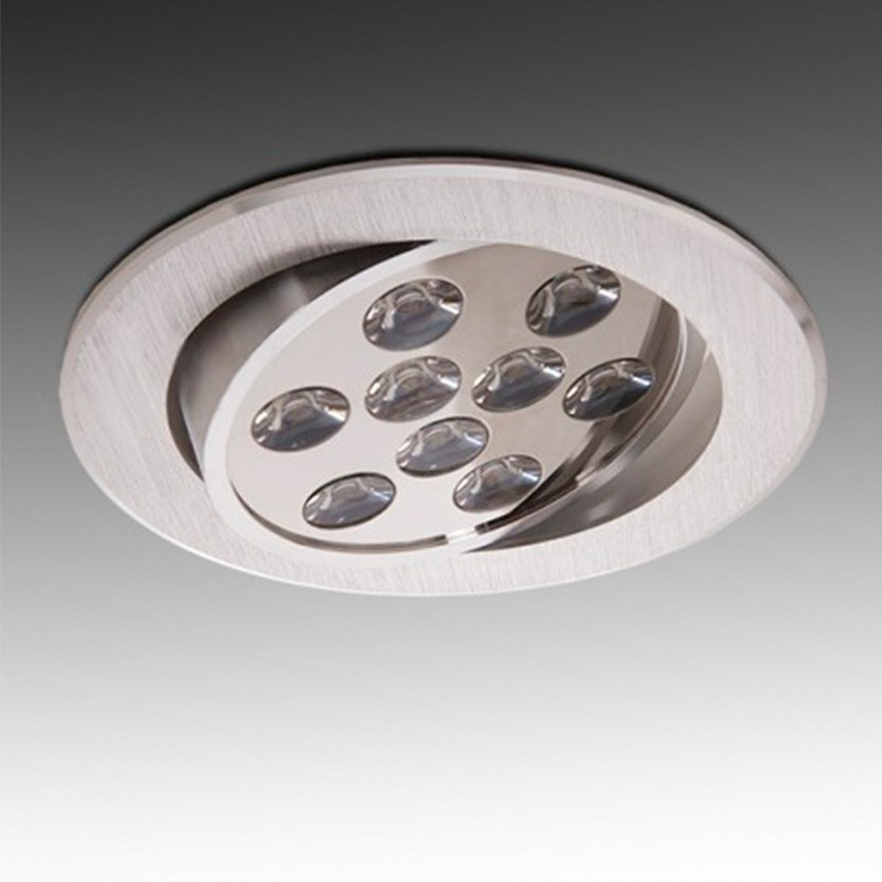 Foco Downlight Led Circular 9W 900Lm Ø134mm
