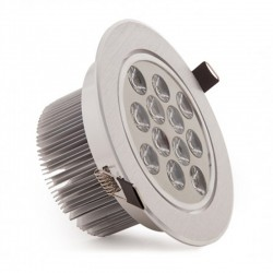 Comprar Foco Downlight Led Circular 12W 1200Lm Ø134mm