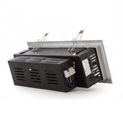 Vender Foco Downlight rectangular Cardan 9W 900Lm