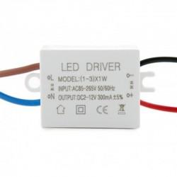 Driver Downlight led circular 2W Ø52mm 2salida