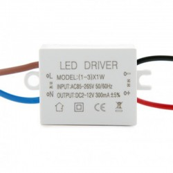 Driver Downlight led circular 2W Ø52mm 3salida