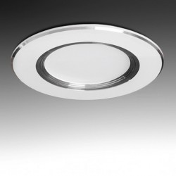 Downlight led Plateado 5W 400Lm Ø98mm