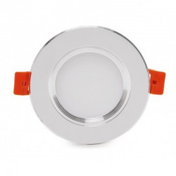 Comprar Downlight led Plateado 5W 400Lm Ø98mm