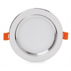 Comprar Downlight led Plateado 9W 800Lm Ø145mm