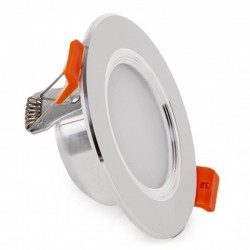 Oferta Downlight led Plateado 9W 800Lm Ø145mm
