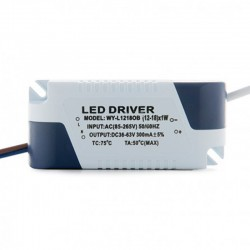 Driver Downlight led COB circular 15W 1200Lm