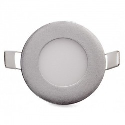 Comprar Downlight Circular Plateado 3W 90mm 230Lm