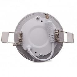 Precios Downlight Circular Plateado 3W 90mm 230Lm